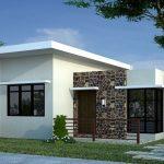 Fachada de casa con piedra laja