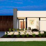Fachadas de casas con cantera de un piso