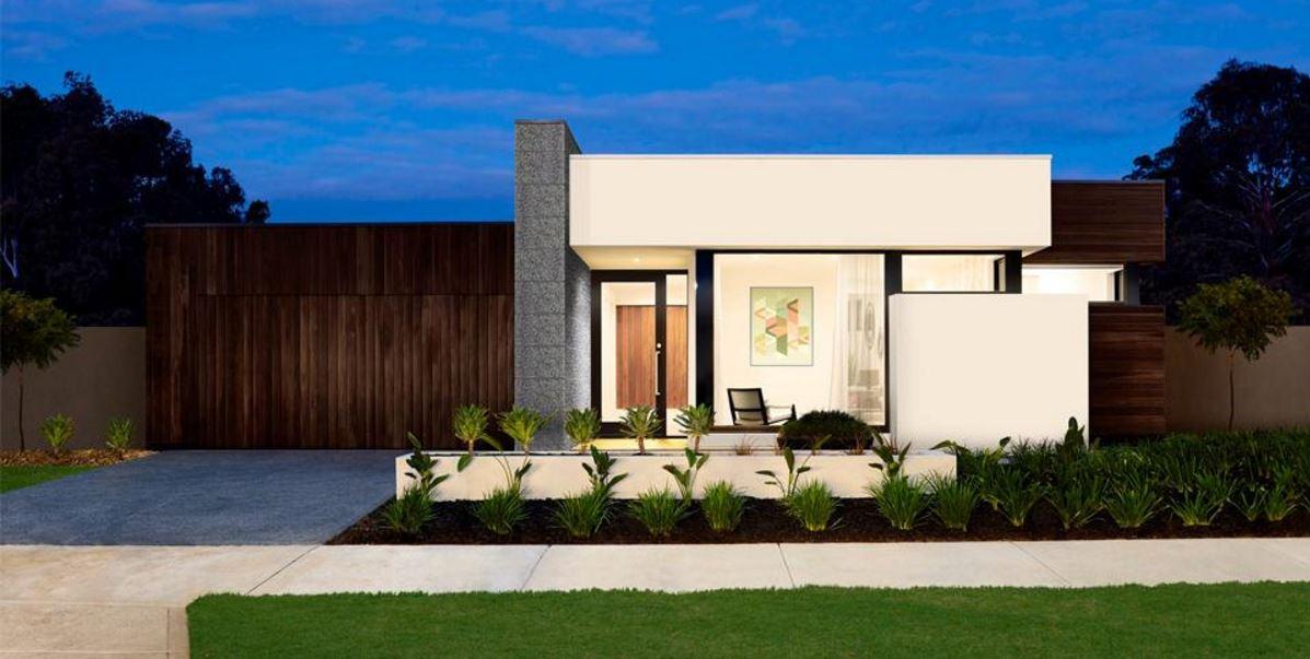 Fachadas de casas con cantera de un piso for Casas modernas planos y fachadas