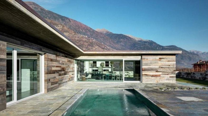 Fachadas de casas con lingotes de piedra - Casas con fachadas de piedra ...