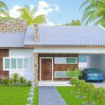 Fachadas de casas con chapas