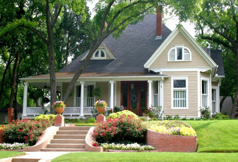 Fachadas con flores for Fachadas de jardines para casas