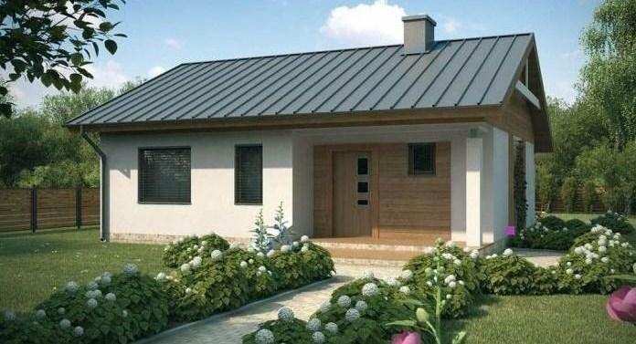 20 fachadas de casas de una planta for Modelos de techos de casas