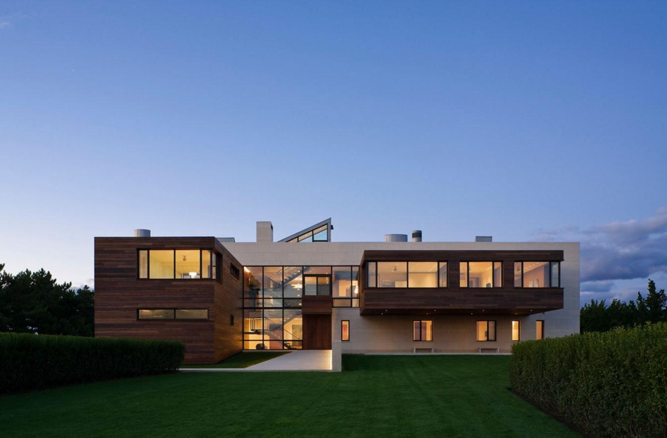 Fachada de casa de 2 pisos con estilo lujoso for Fachada casa 2 pisos