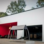 Fachada de casa prefabricada moderna