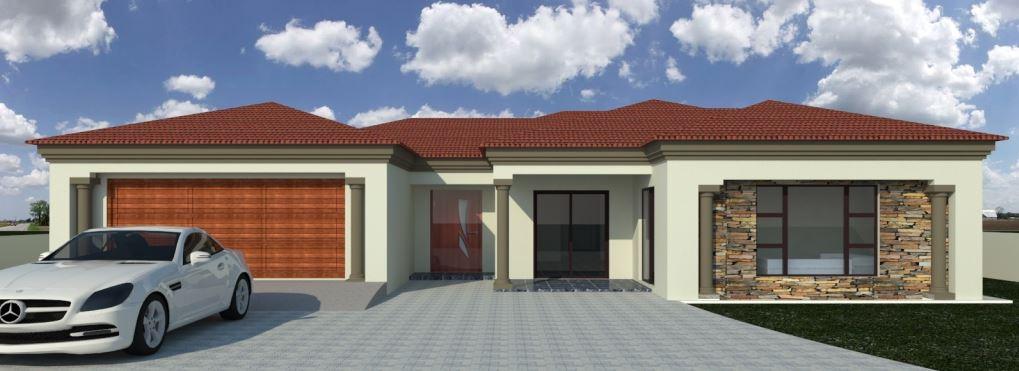 Fachada de casa sencilla de un piso for Casa de una planta sencilla