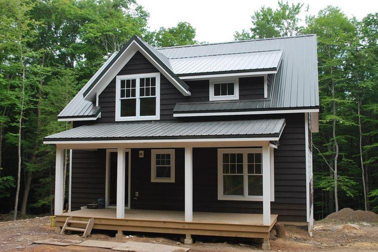 Fachadas de casas de madera muy peque as - Casas de madera natural ...