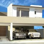Fachadas de casas con lineas rectas