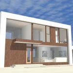Modelos de fachadas para casas minimalistas