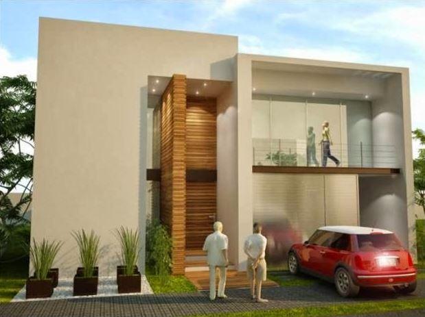 Fachadas de casas con luces - Luces exteriores para casas ...