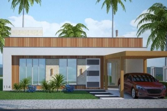 20 fachadas de casas de una planta for Fachadas de casas de una planta bonitas
