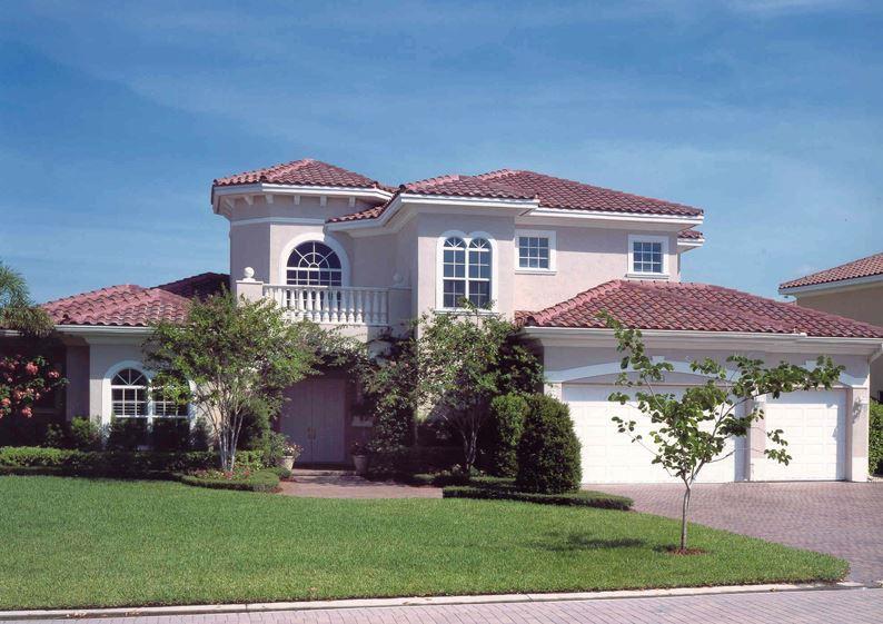 Fachadas de casas con tejas coloniales for Techos exteriores para casas