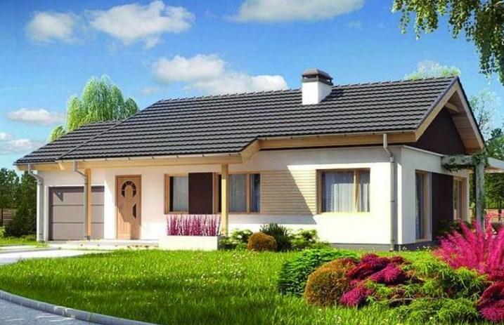 20 fachadas de casas de una planta for Frentes de casas de una planta