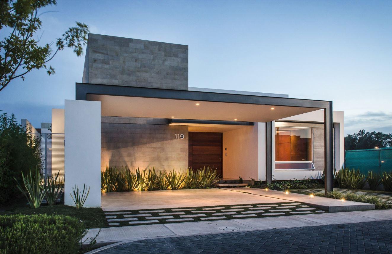 Puertas para fachadas for Puertas de entrada de casas modernas