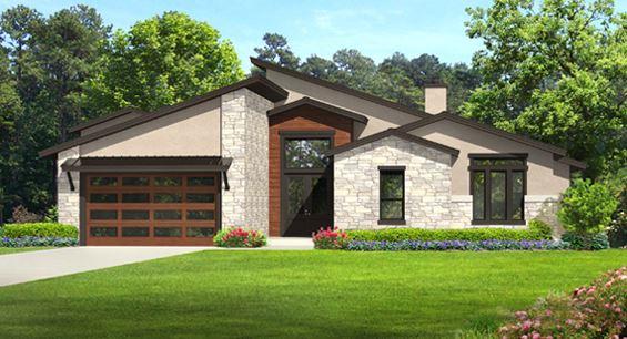 Fachada y contrafachada para casa de 300 metros cuadrados for Diseno de casa de 300 metros cuadrados