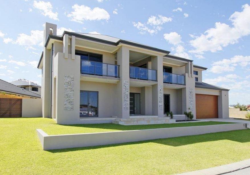 Fachadas de casas modernas con doble cochera - Fachadas de casas modernas planta baja ...