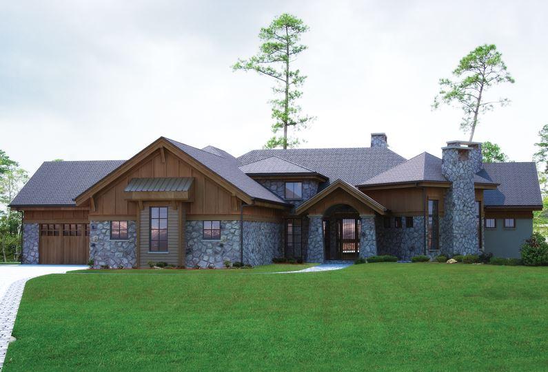 Fachadas de casas de piedra y madera - Casas piedra y madera ...