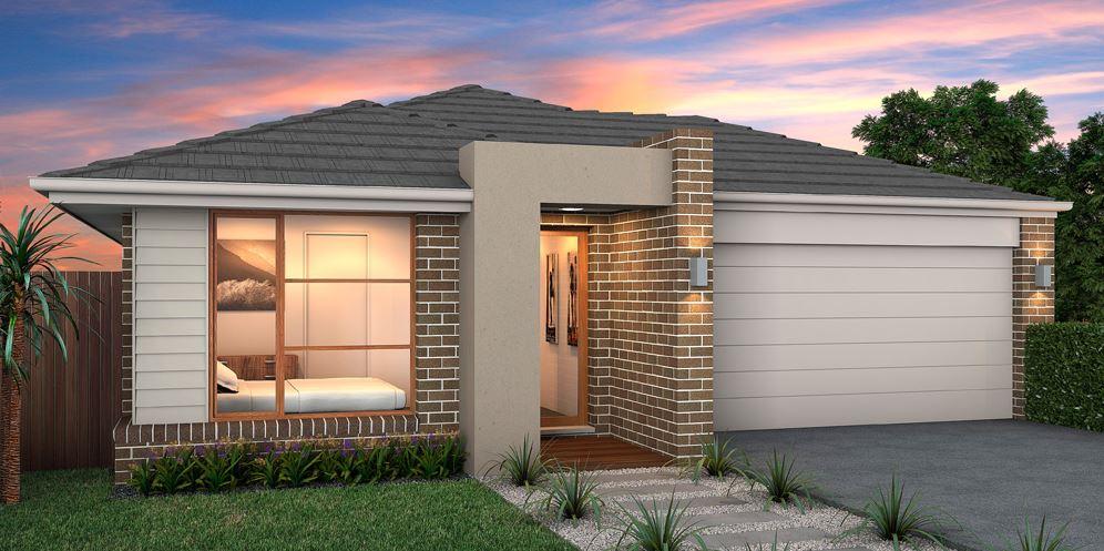 Fachadas de casas modernas con doble cochera for Fachadas de viviendas de una planta