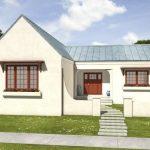 Fachadas de casas sencillas de techos de chapas