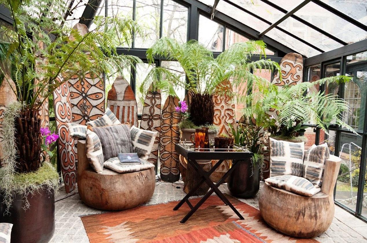 Jardines techados for Jardines pequenos techados