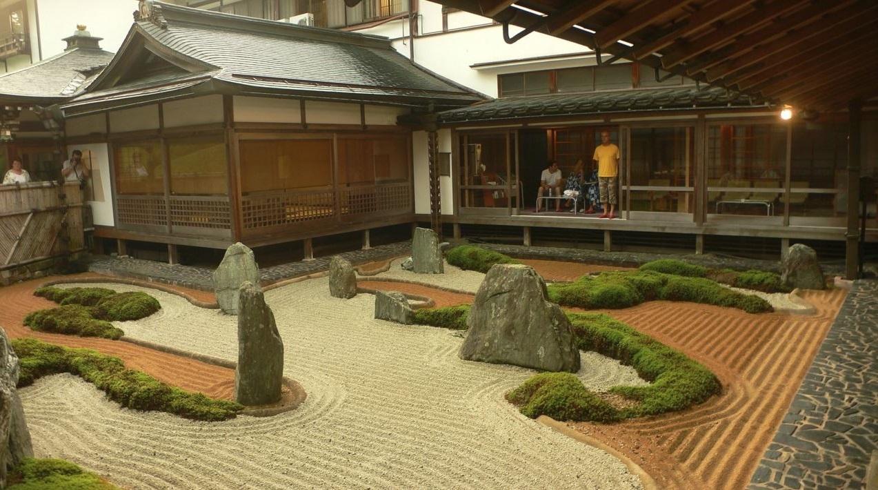 Fachadas con jardin - Que es un jardin zen ...