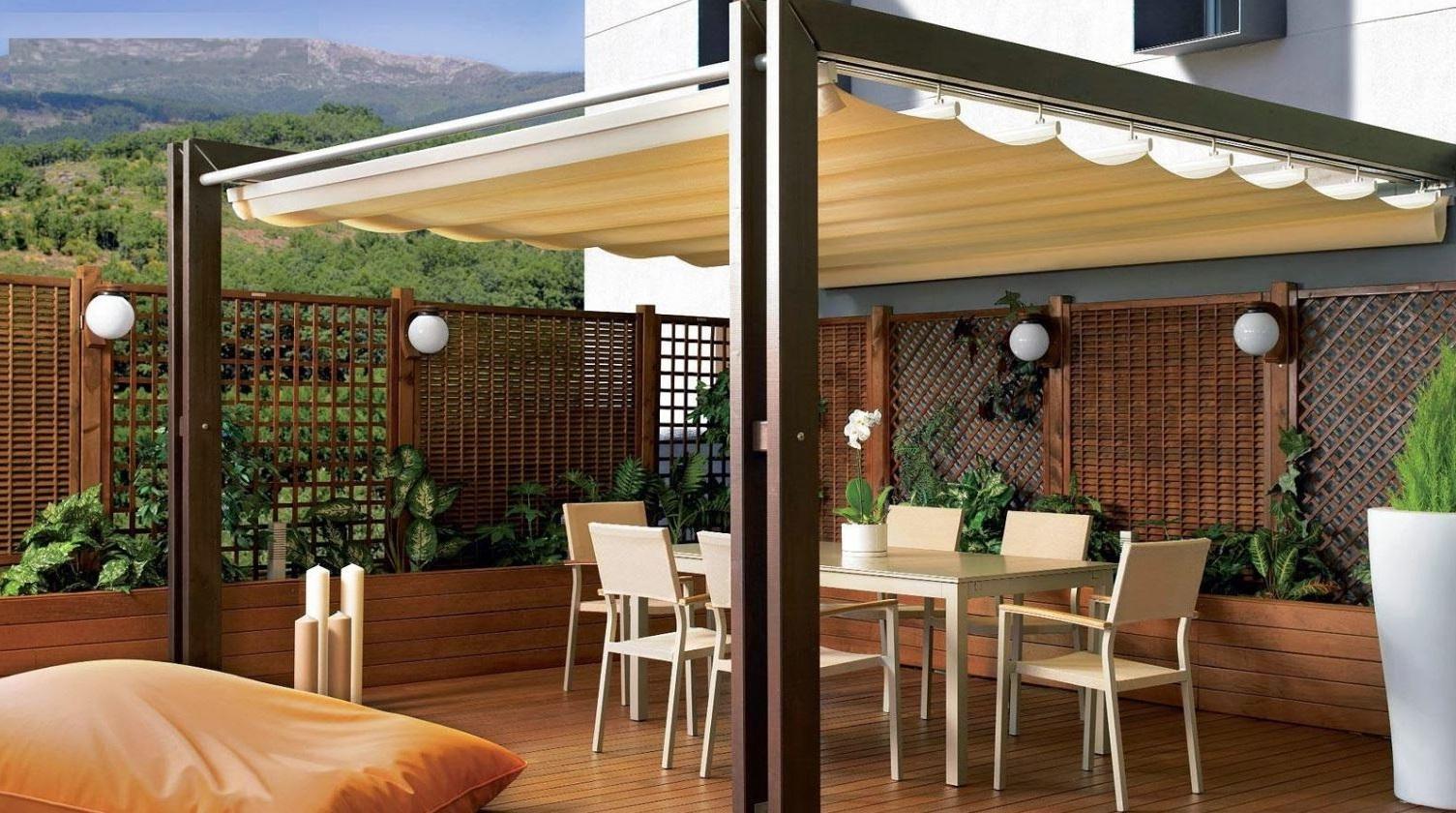 Jardines techados - Techados para terrazas ...