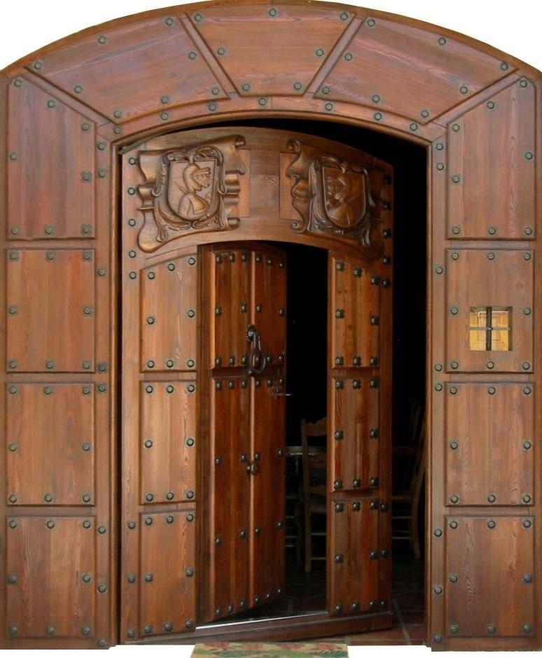 Cat logo de puertas grandes for Puertas madera economicas