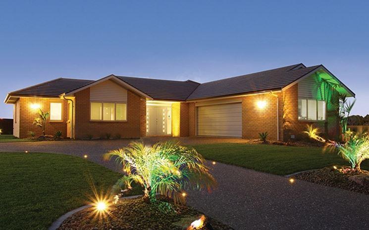 Fachadas con techos a 4 aguas for Casas modernas estilo campo