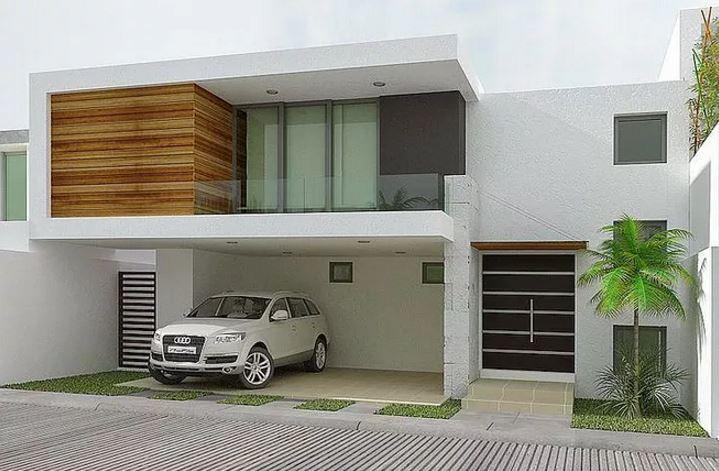 Modelos de rejas horizontales para casas modernas for Modelos de residencias modernas