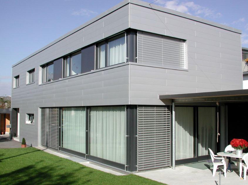 fachadas de edificios On fachadas de aluminio para casas