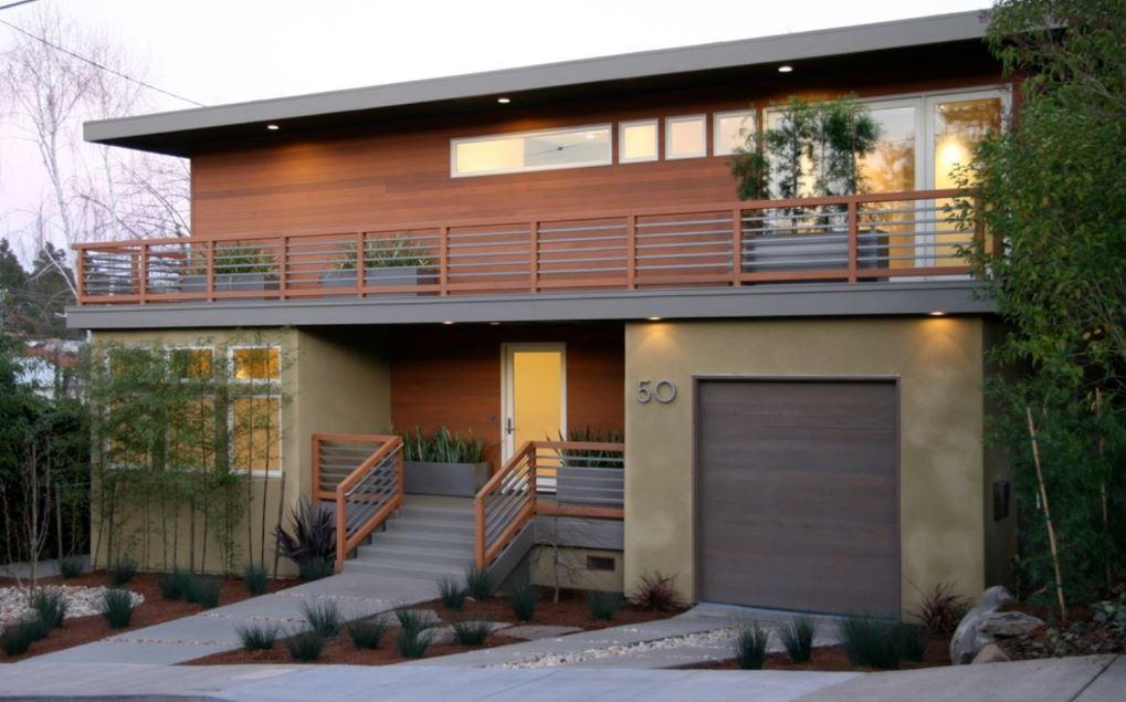 Fachada con balcon for Fotos de casas modernas con balcon