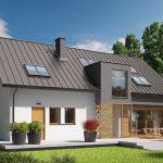 Fachadas de casas y planos arquitectonicos