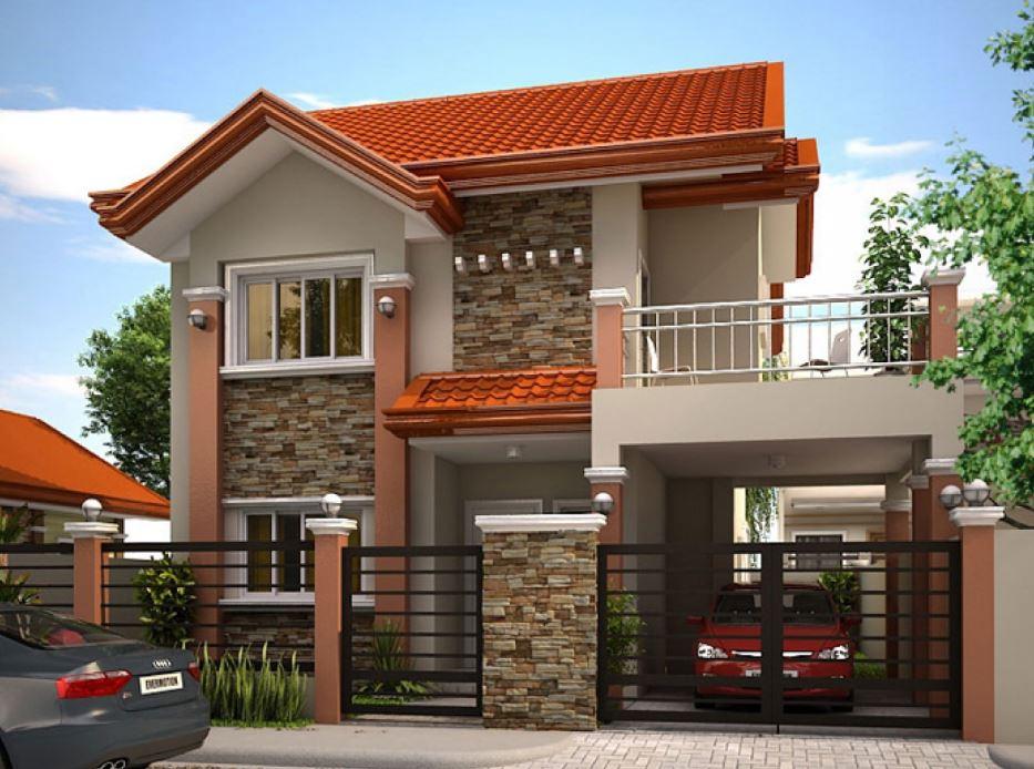 Fachadas con tejas coloniales for Fachadas de casas con teja
