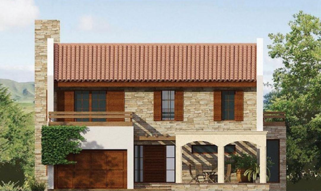 Fachadas de casas con tejas espa olas for Modelos de techos con tejas