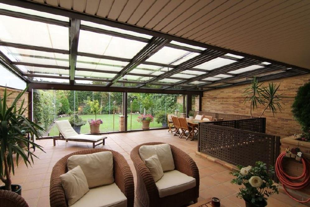 jardines techados
