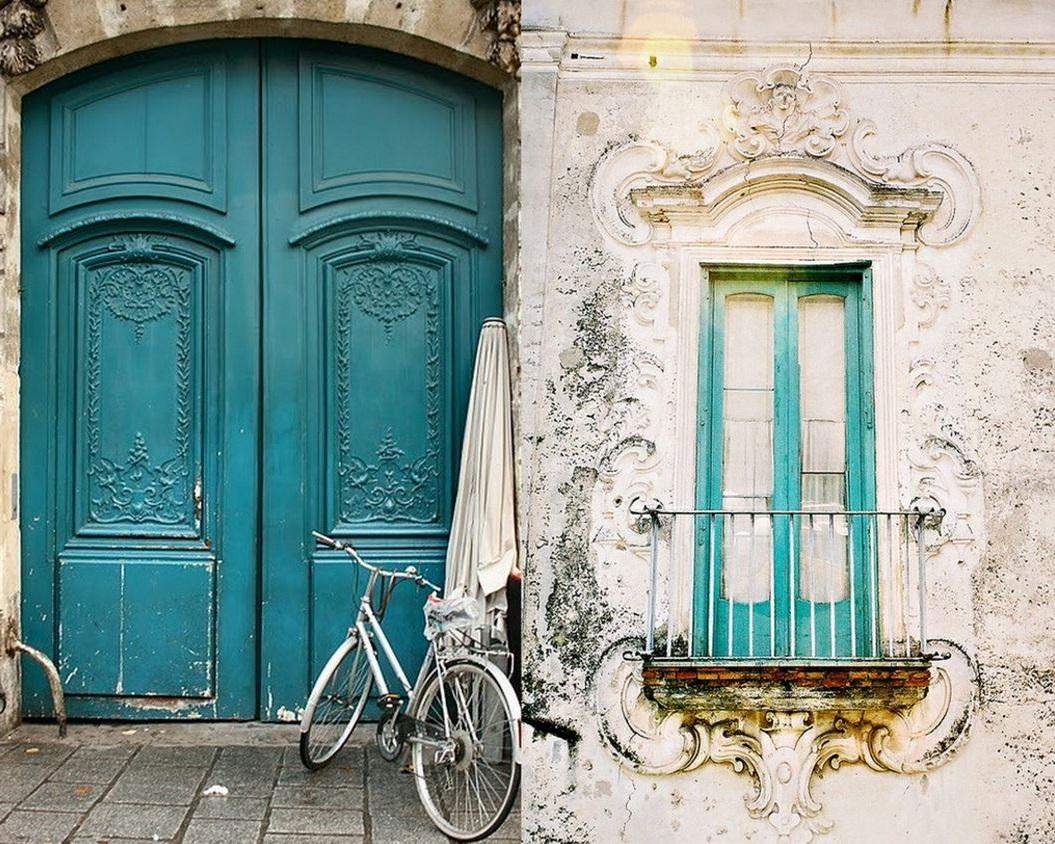 Fachada vintage for Puertas para casas antiguas