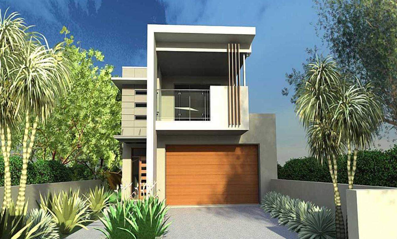 Imagenes de fachadas de casas de dos pisos modernas for Casas modernas planos y fachadas