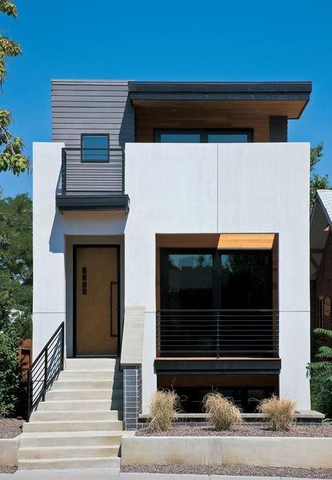 Imagenes de fachadas de casas de dos pisos modernas for Fachadas de casas modernas de 5 pisos