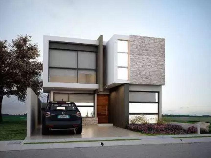 10 fachadas de casas minimalistas for Fachadas minimalistas