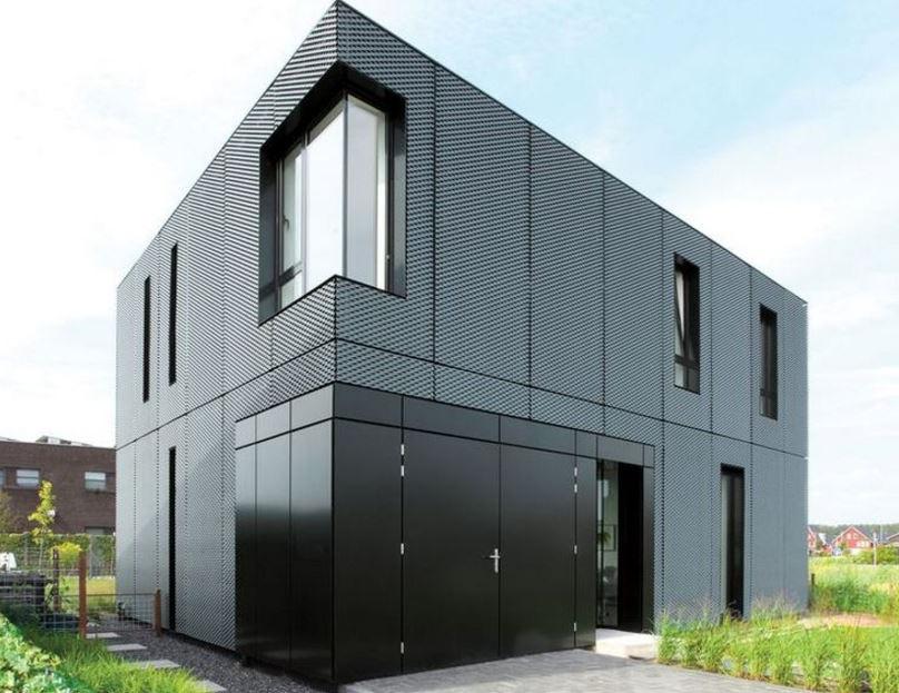Fachadas de casas de chapa for Tirol en techos de casas