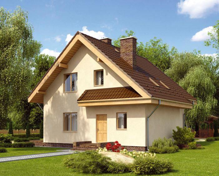 Fachada de casa clasica for Figuras para techos de casas