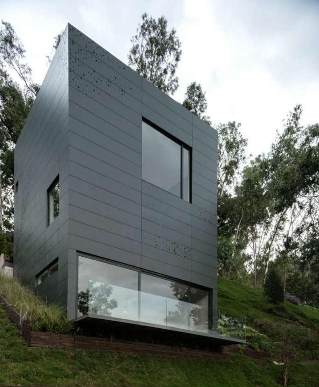Fachadas revestidas con paneles de aluminio - Recubrimientos para fachadas ...