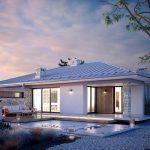 Fachadas de casas minimalistas con piedras