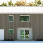 Impresionante fachada innovadora con madera machihembrada