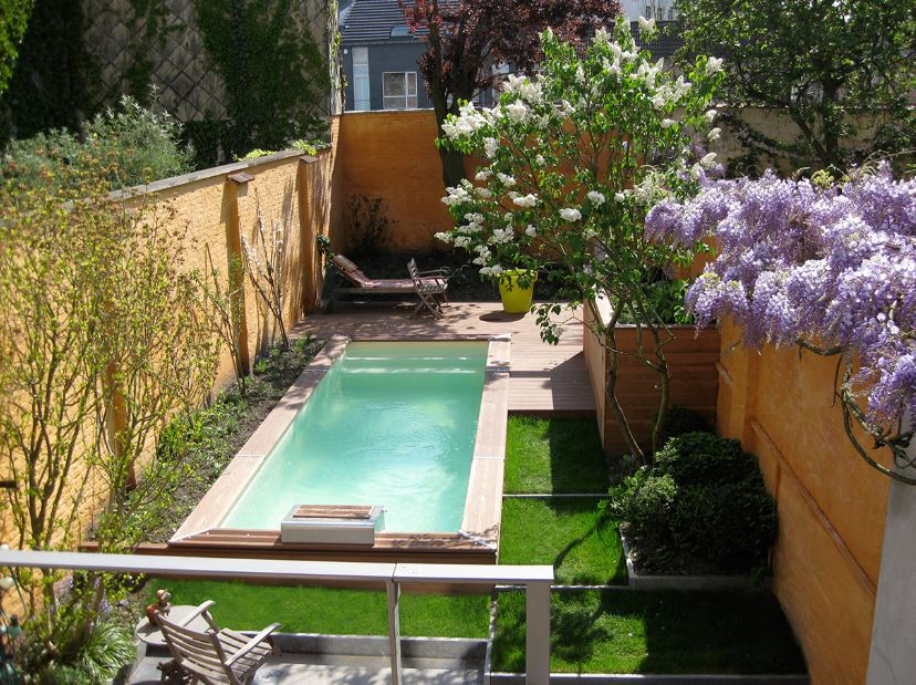 Imagenes de albercas peque as for Construir una piscina en casa