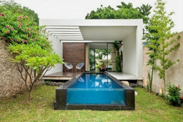 Imagenes de albercas peque as for Petite piscine design