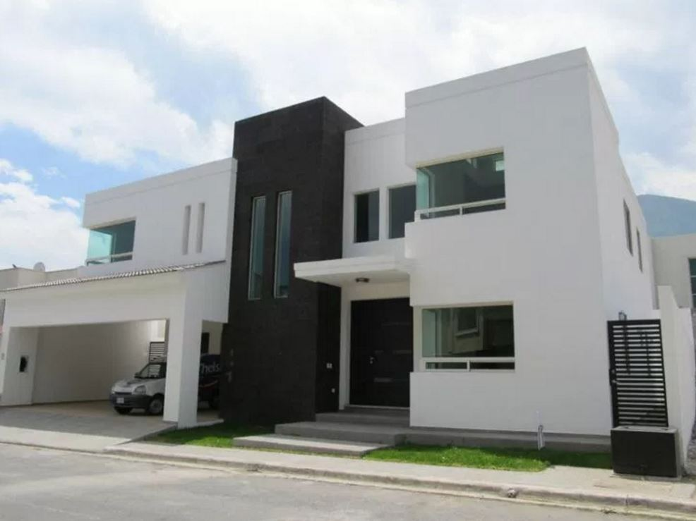 10 fachadas de casas minimalistas for Viviendas estilo minimalista