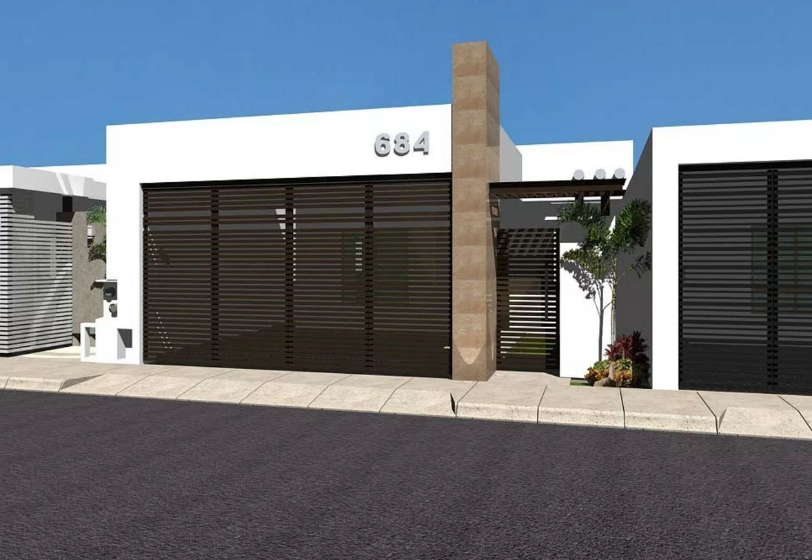 10 fachadas de casas minimalistas for Modelos de casas minimalistas de dos plantas