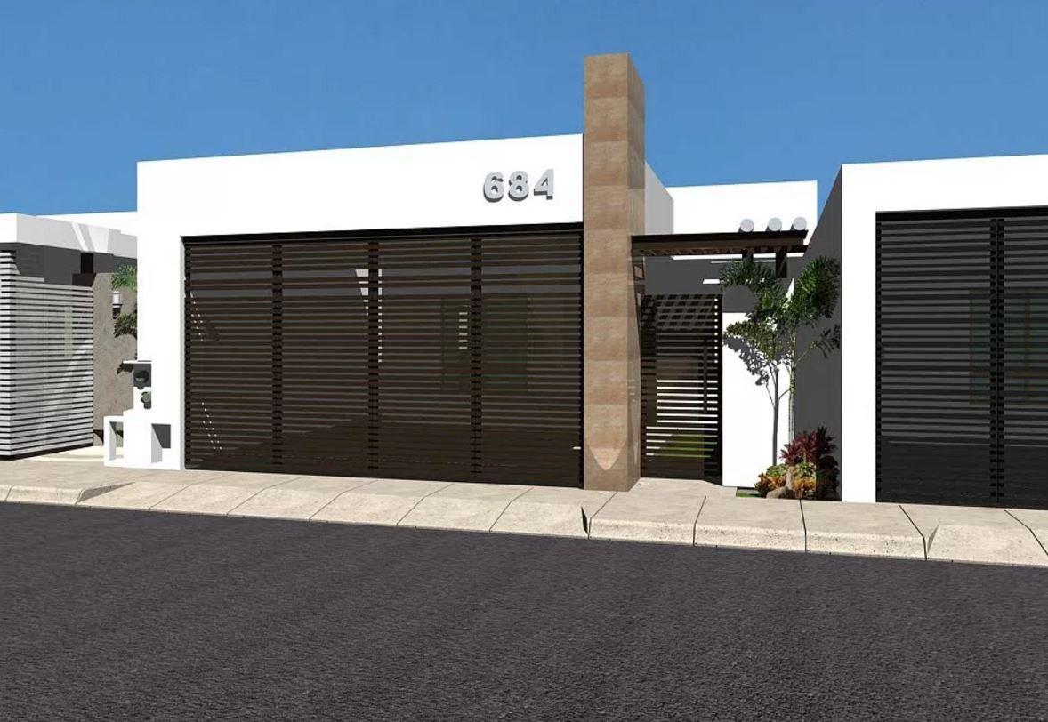 10 fachadas de casas minimalistas - Fachadas de casas modernas planta baja ...