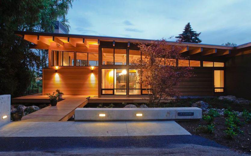 10 modelos de techos inclinados a un agua - Tipos de tejados para casas ...